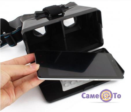 3d стерео очки виртуальной реальности крепеж телефона android (андроид) к дрону mavik