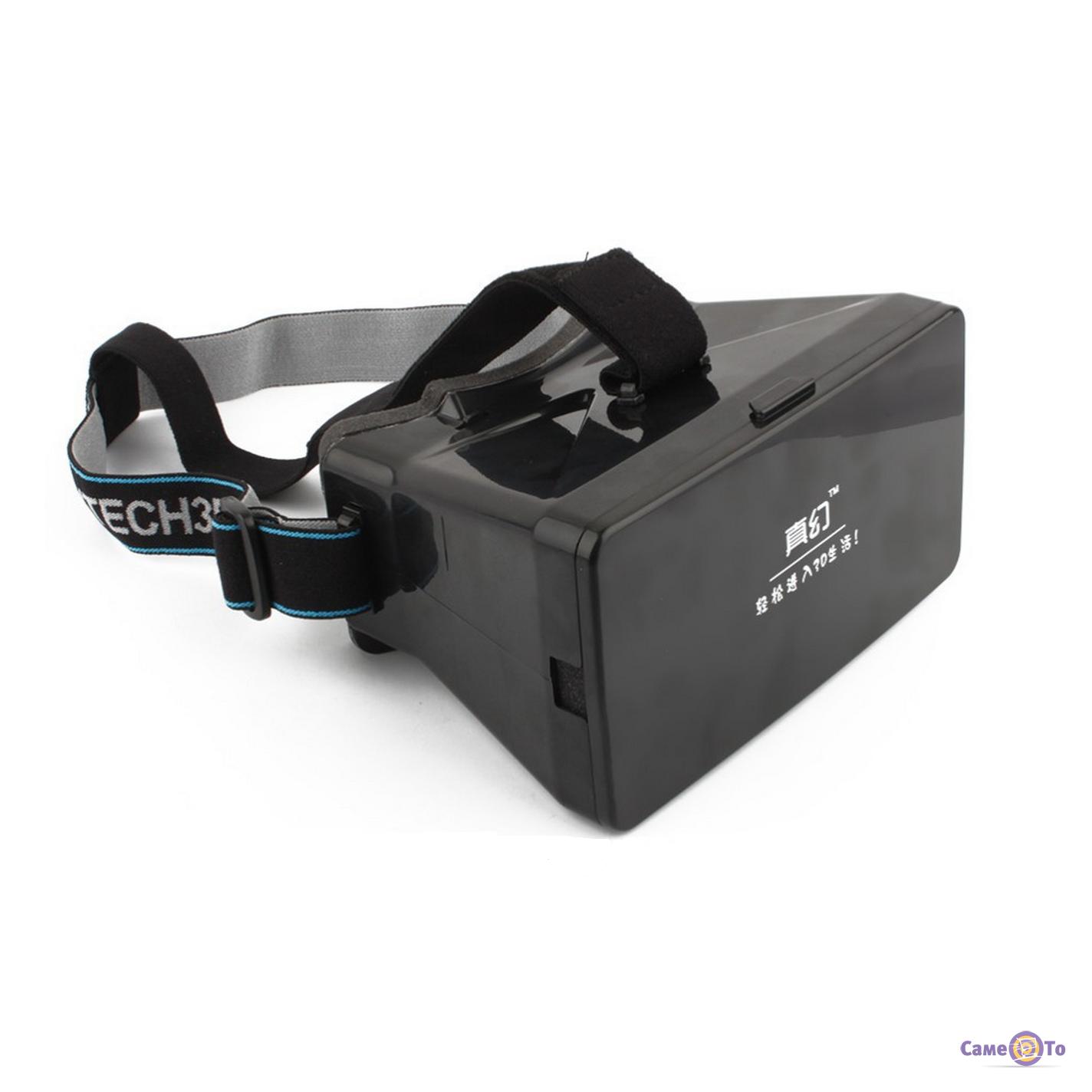 3D стерео очки виртуальной реальности для смартфона