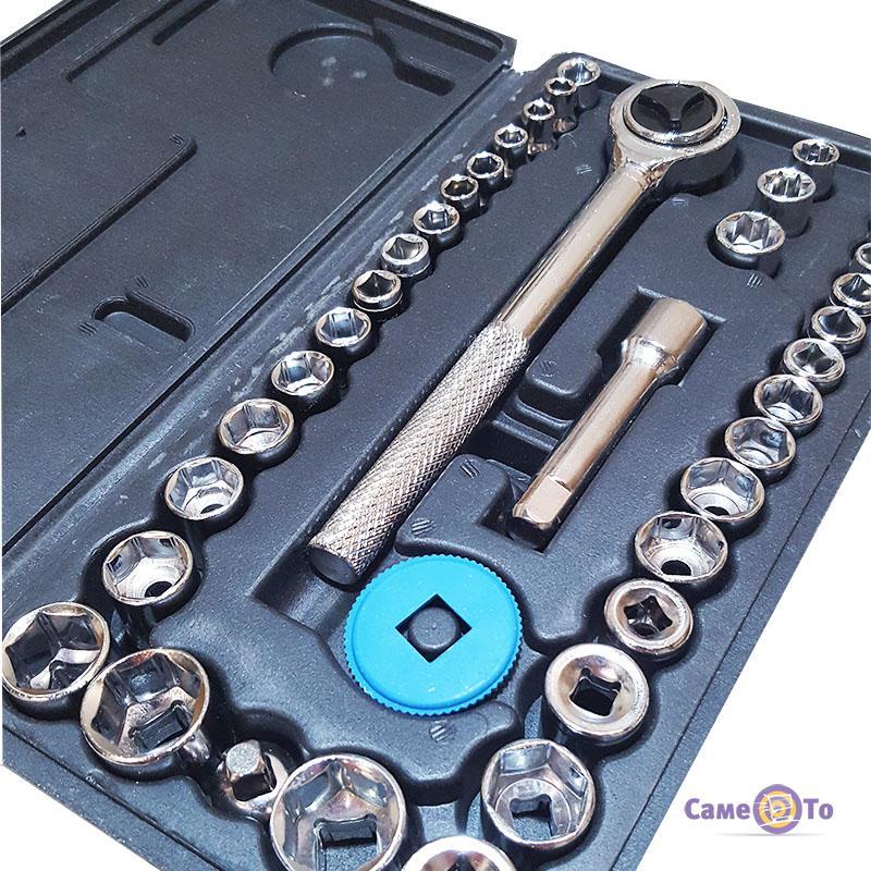 Набор торцевых головок и ключей для машины Extra german style EX-8047, 40 предметов