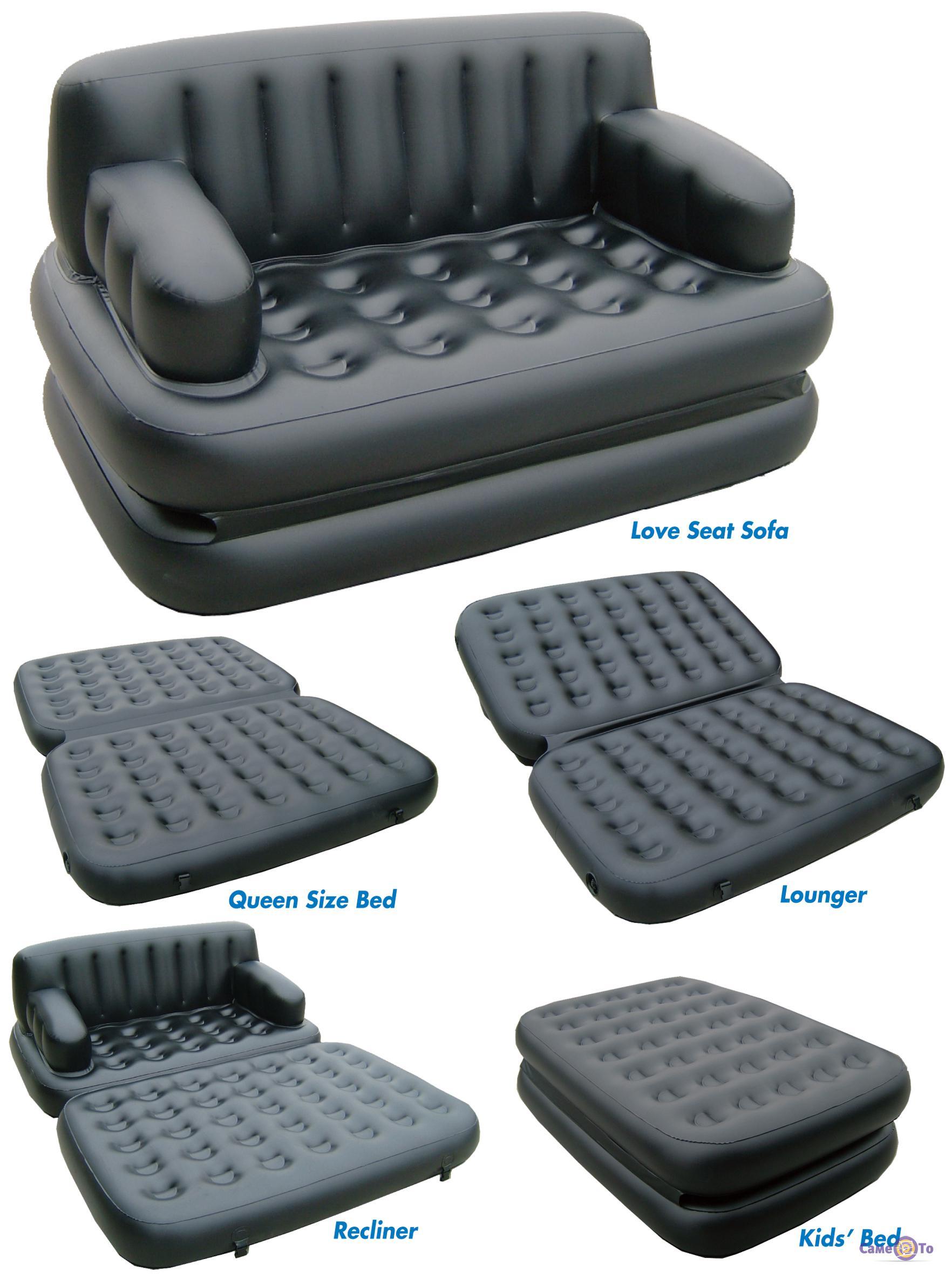 надувной диван 5 в 1 Sofa Bed софа бед цена отзывы купить в
