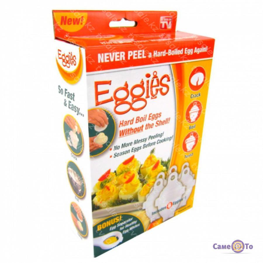 Формы для варки яиц без скорлупы «Лентяйка»