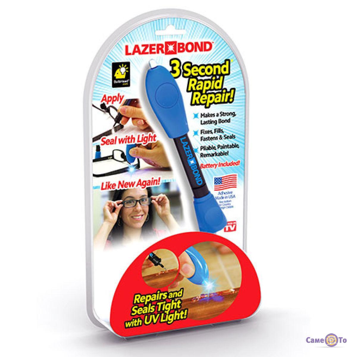 Лазерный клей-смола (жидкий пластик) для стекла, метала, пластика и дерева Lazer Bond