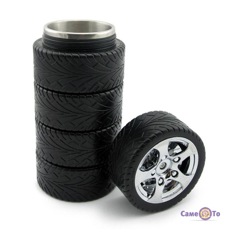Чашка-термос автомобилиста Шина - подарок водителю