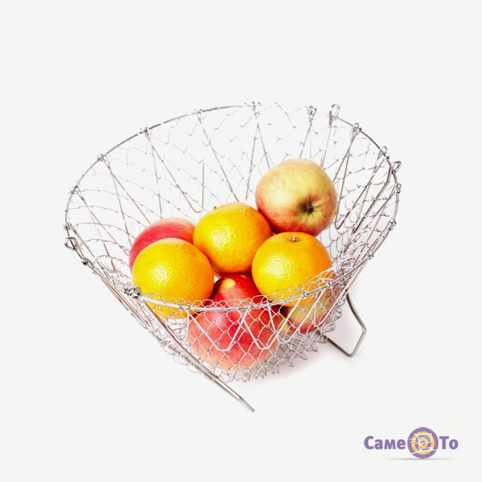 Складной дуршлаг Chef Basket Чиф Баскет