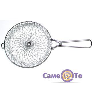 Складная решетка для варки, жарки и фритюра Chef Basket