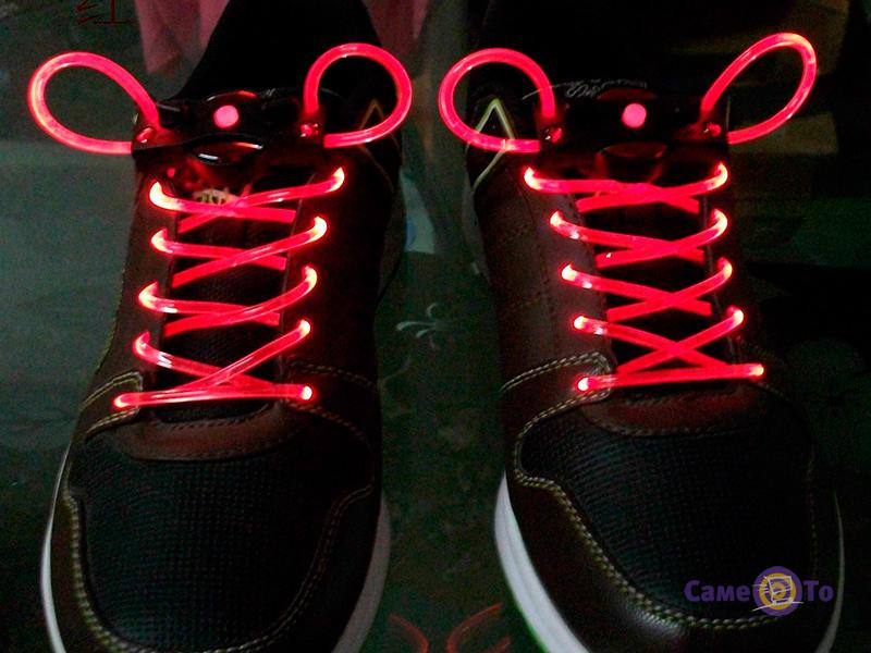 Светящиеся LED шнурки Platube Laces