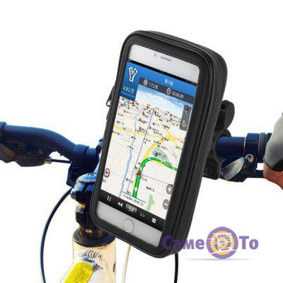 Водонепроницаемый чехол держатель для телефона на велосипед