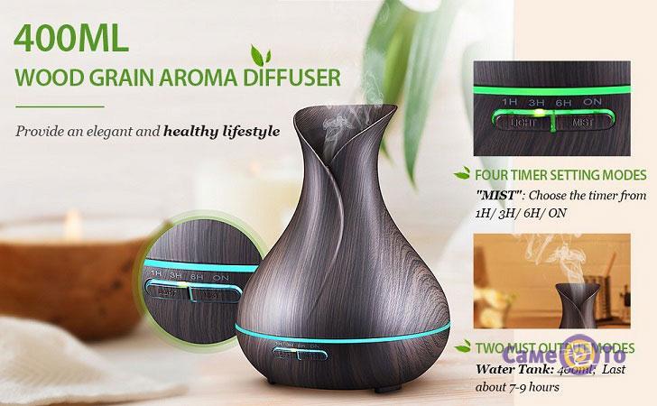Ультразвуковой увлажнитель воздуха автоматический Aroma Diffuser