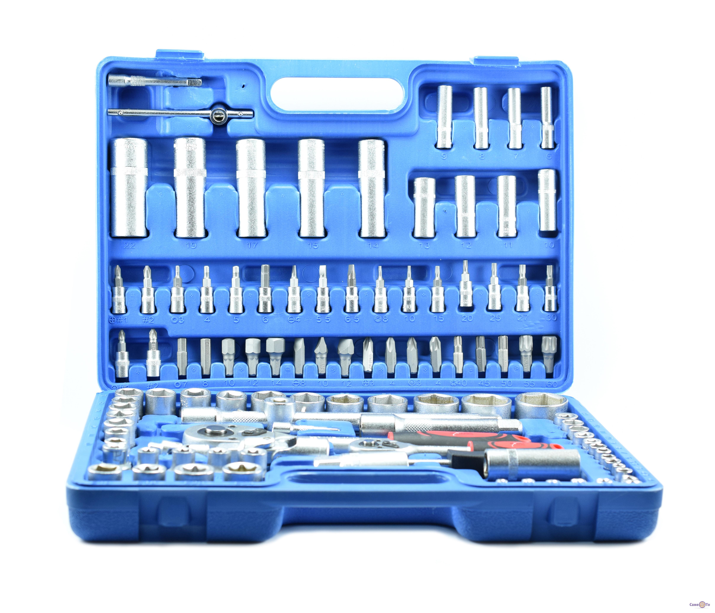 Набор инструментов в чемодане Extra EX-8038, 108 предметов