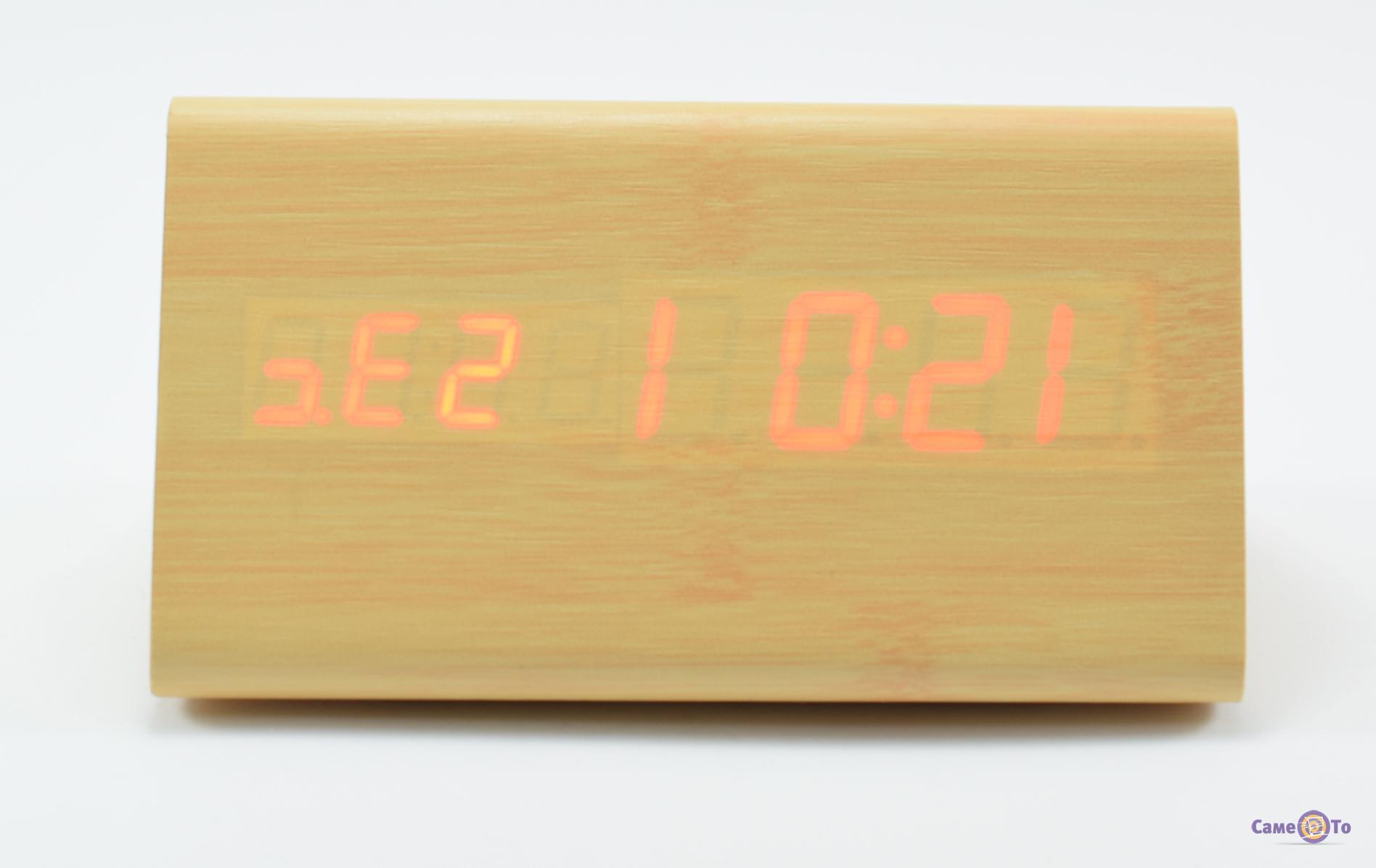 Электронные часы с будильником, настольные VST-861