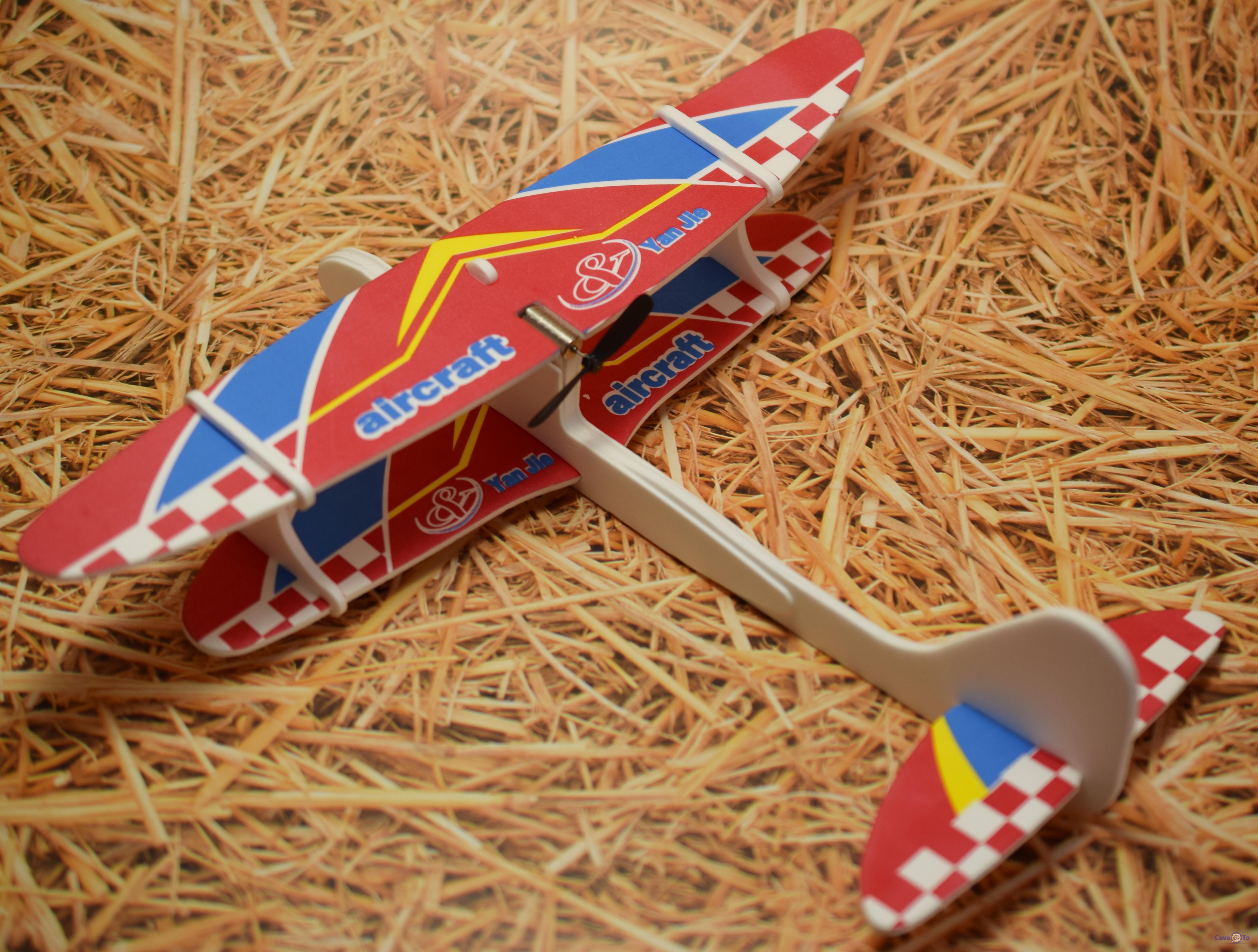 Метательный планер - детский самолет из пенопласта, игрушка Aircraft