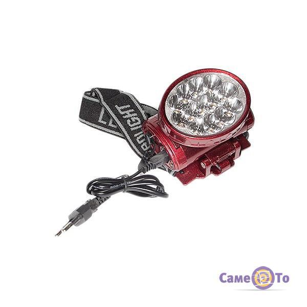 Светодиодный налобный аккумуляторный фонарь YJ-1898