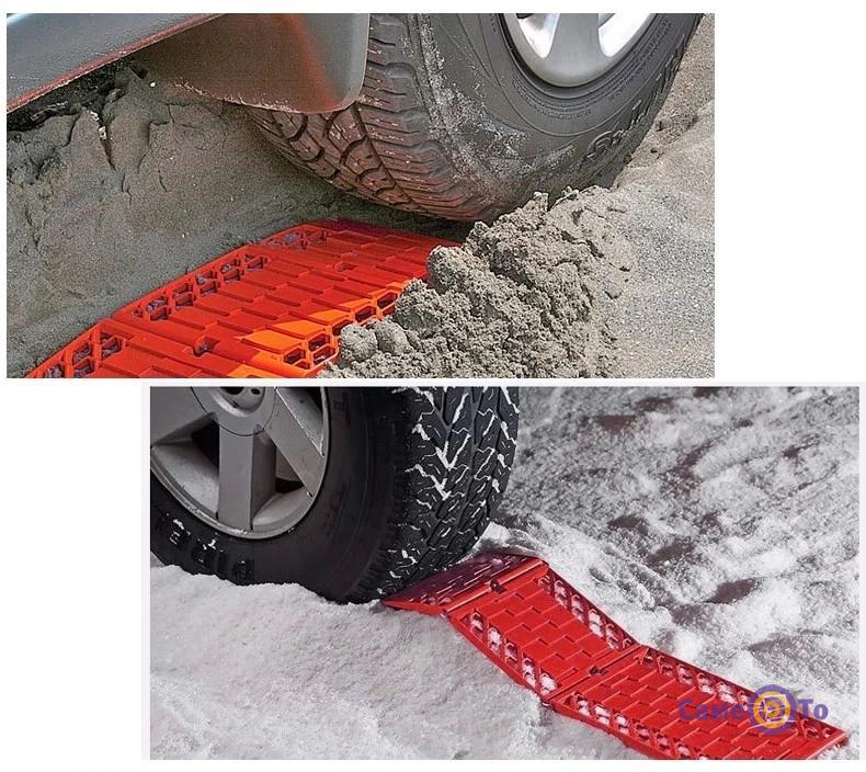 Антипробуксовочные ленты Tyre Grip Tracks 2 шт.
