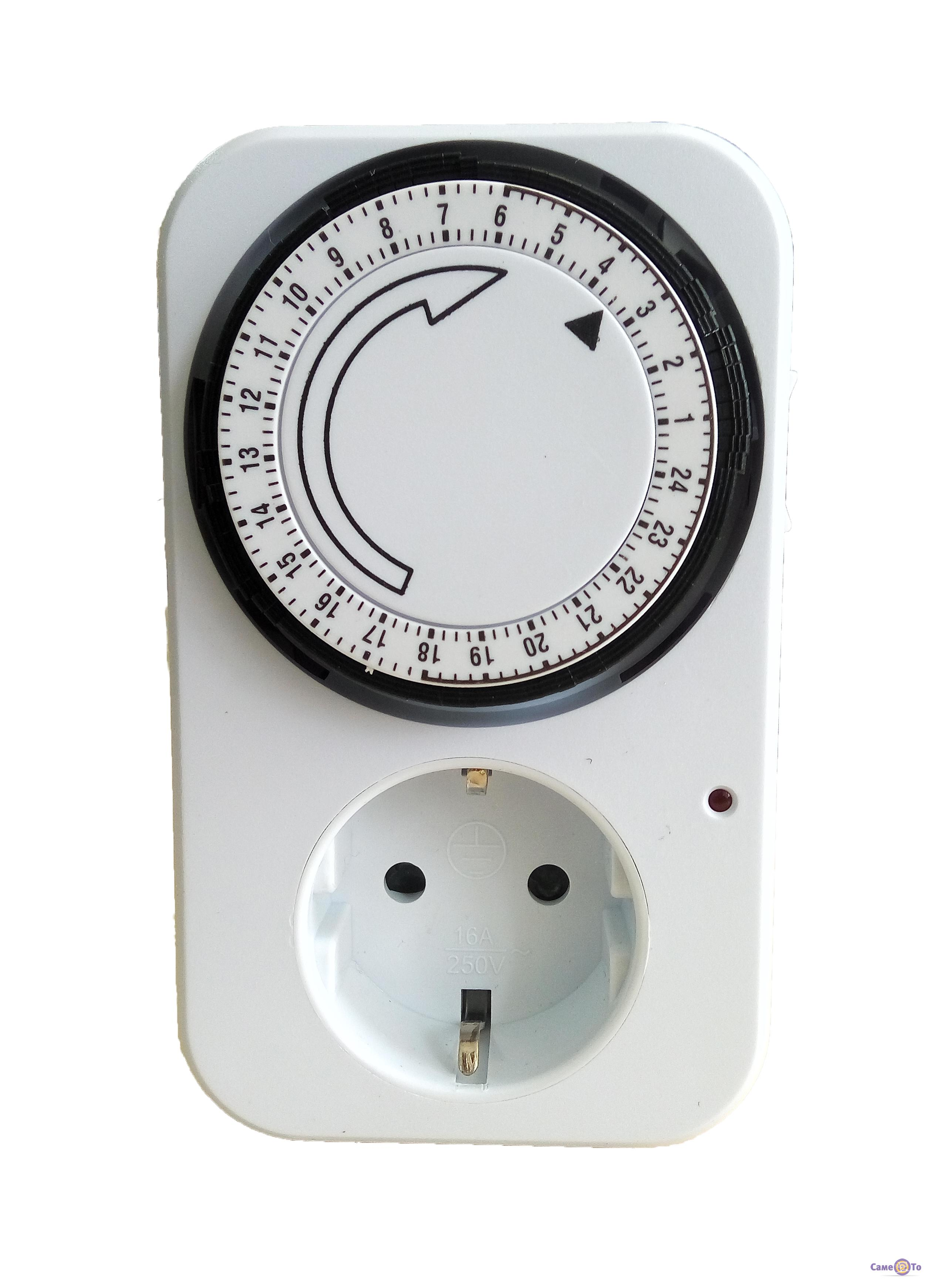 Розетка з таймером добова Programme Timer  ціна 1d94d6132b389