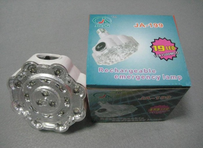 Аварийная LED лампа на аккумуляторе Junai JA-199