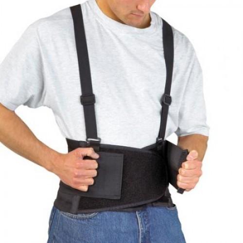 Бандаж для спины с подтяжками поддерживающий