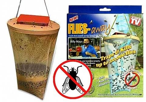 Ловушка для насекомых: мух, ос, комаров Flies Away