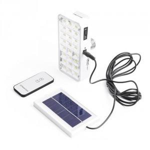 Лампа-фонарь аккумуляторная на солнечной батарее YAJIA 9817