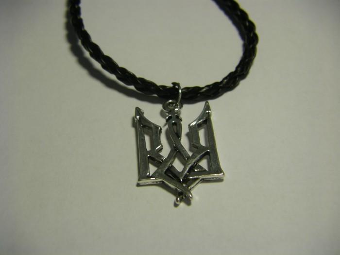 Кулон Трезубец - Герб Украины в готическом стиле