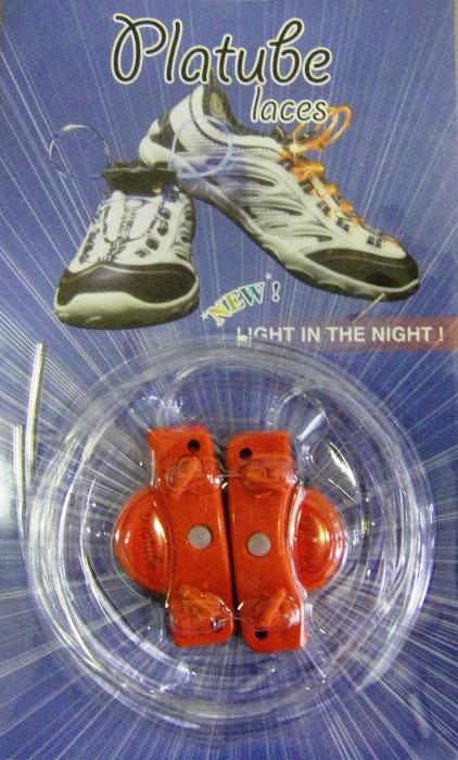 Светящиеся LED шнурки Platube Laces