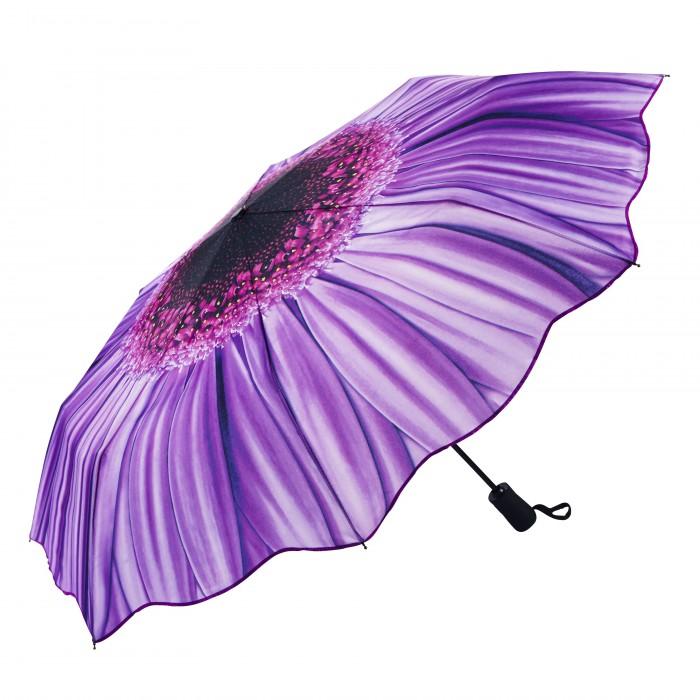 Красивый и яркий зонт от дождя Василек