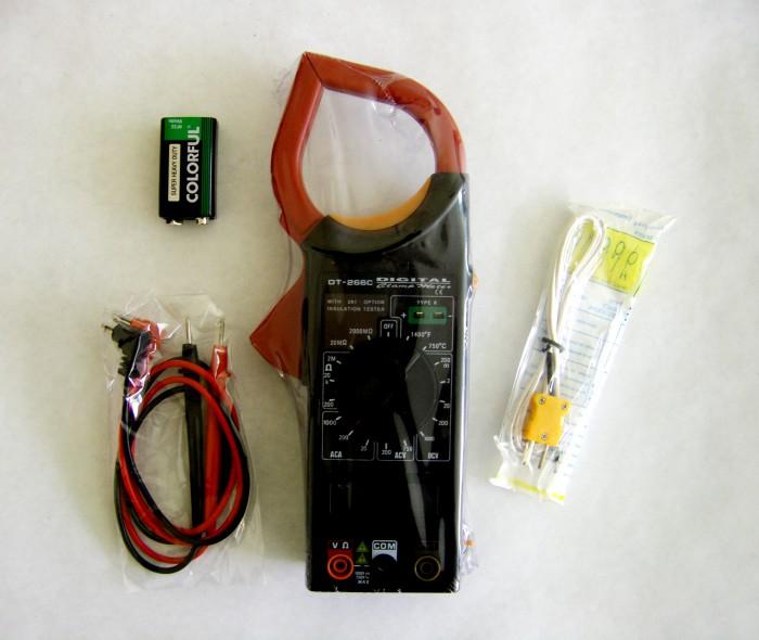 Скачать инструкцию для 266c clamp meter