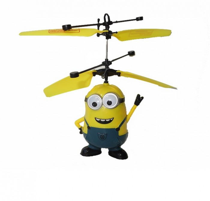 Летающий миньон из Гадкий Я - интерактивная игрушка