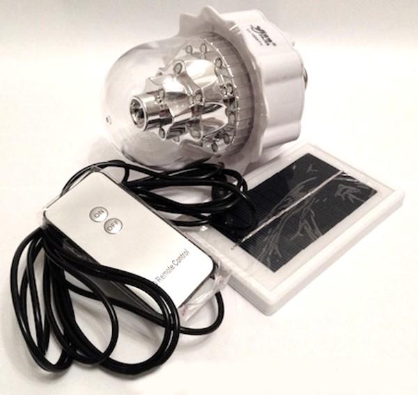 Аварийная лампа на аккумуляторе и солнечной батарее Yajia 1886 TY
