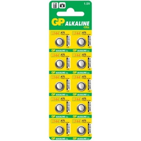 Алкалиновая батарейка G13 GP 10 шт.