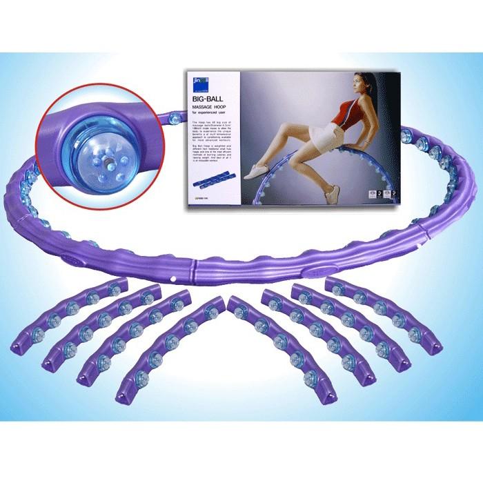 Хула-Хуп для аэробики Big Ball Magnet Hoop