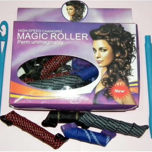 Бигуди Magic Roller широкие 9шт.-28см. 9шт.-18см.