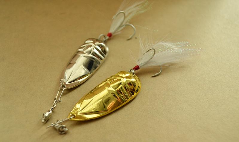 Колеблющаяся блесна Spoon lure (колебалка)
