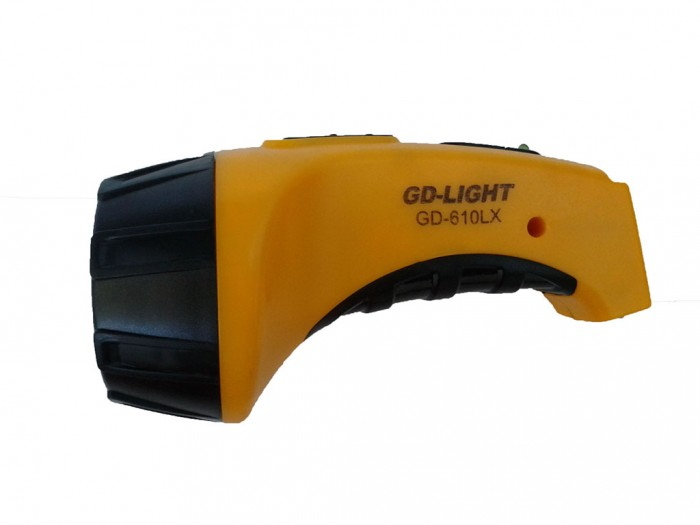 Фонарь аккумуляторный GD-610 LX 4 LED