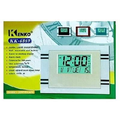 Часы настольные электронные KENKO-6869 LCD