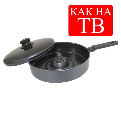 Сковорода керамическая с дырками
