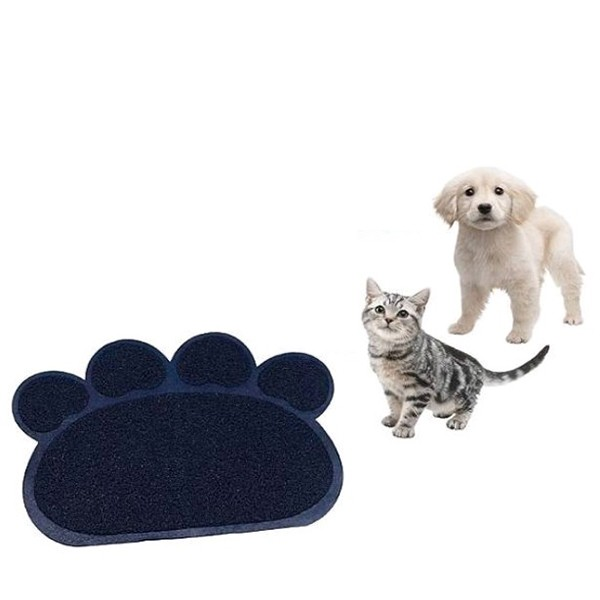 Коврик для домашних животных Paw Print Litter Mat