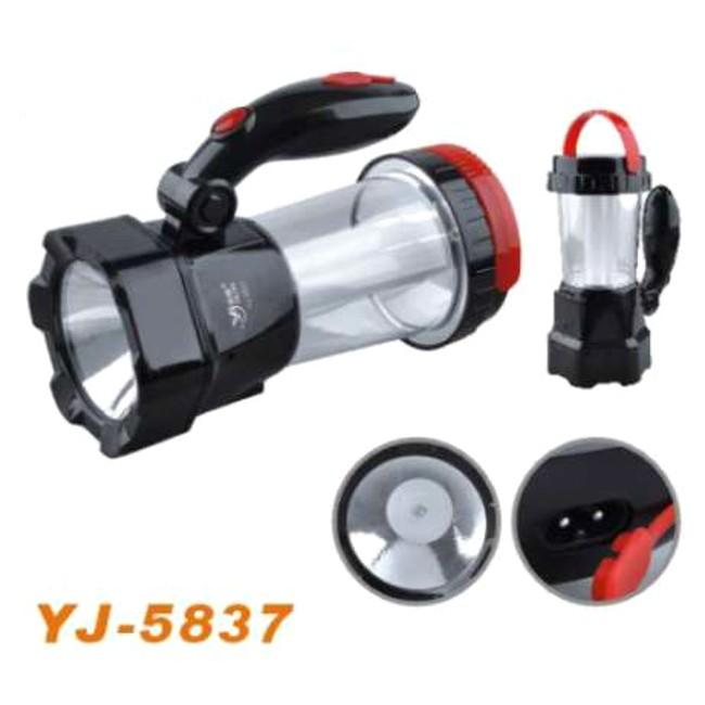 Аккумуляторная лампа-фонарь YJ-5837