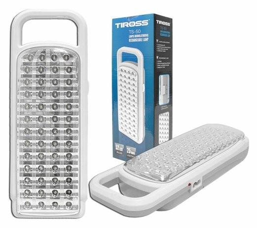Лампа настольная светодиодная Tiross TS 50 на аккумуляторе