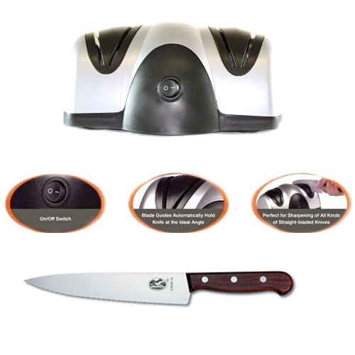 Заточка для ножей Lucky Home Electric Knife Sharpener
