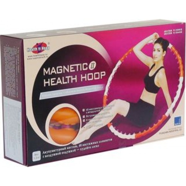 ХулаХуп Magnetic Health Hoop II - массажный обруч с магнитами