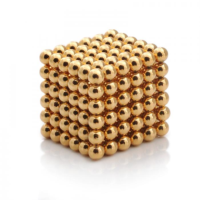 Неокуб головоломка (золото, 5мм)