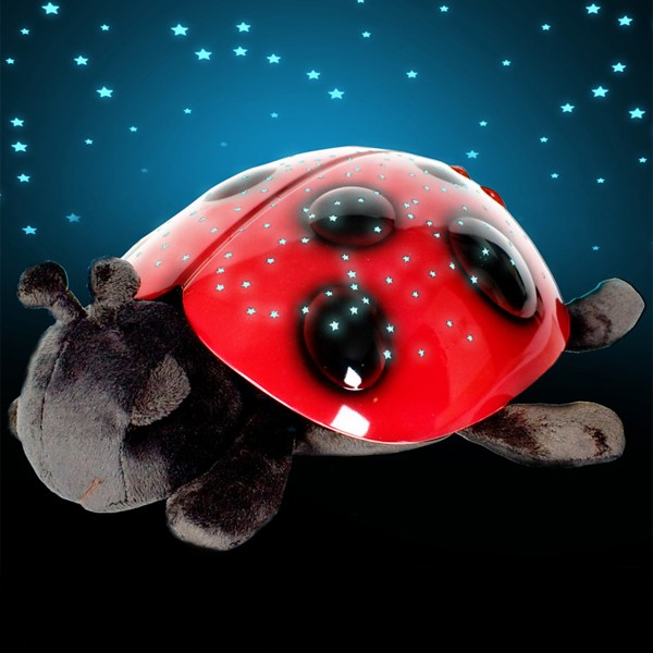 Детский ночник «Божья Коровка» проектор звездного неба