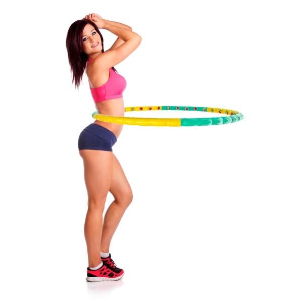 Массажный обруч для похудения Хула Хуп