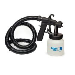 Пистолет для краскораспылителя Paint zoom с бачком и шлангом