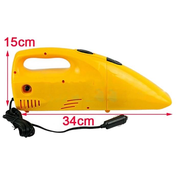 Ручной автомобильный пылесос - компрессор «Авто-макс»