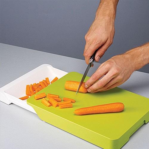 Разделочная доска - трансформер для продуктов Cut & Collect