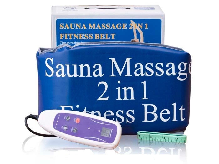Пояс-сауна Sauna Massage 2 in 1 Fitness Belt