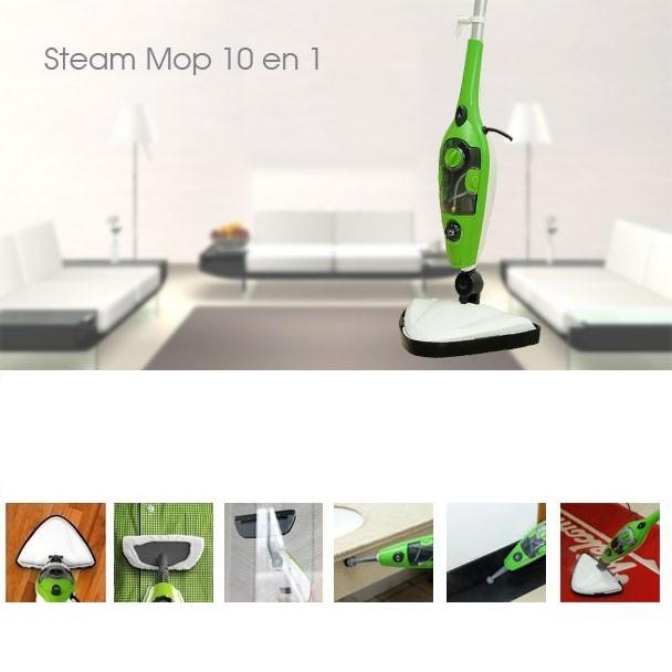 Паровая швабра для пола Steam Mop Х10 (Стим Моп)