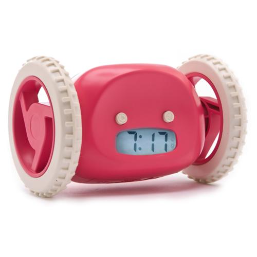 Убегающие часы-будильник Clocky