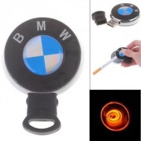 USB зажигалка без огня с лого BMW